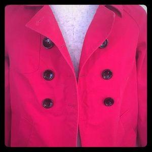 Daisy Fuentes double breasted Coat/Jacket